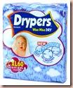 drypers XL