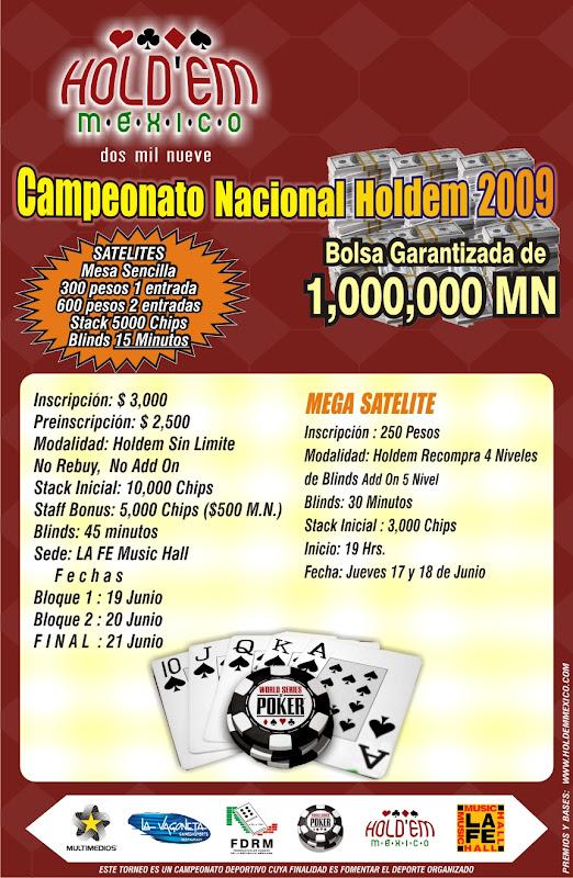 Campeonato Nacional Texas Holdem 2009 La%20Fe%20FLYER