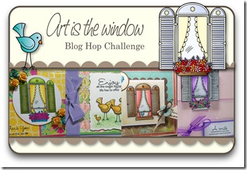 Art is the window Blog Hop Challenge