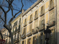 Barcelona Gothic Buildings