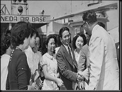 Hiroshima Maidens Arrive-2