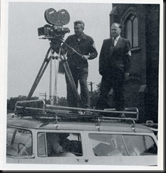 CD Filming Atop Car