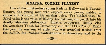 Sinatra-Commie Playboy