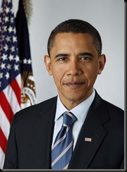 Official portrait of President-elect Barack Obama on Jan. 13, 2009.(Photo by Pete Souza)