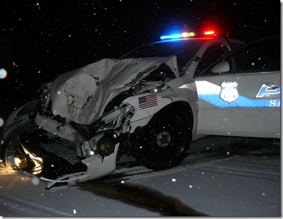 Cop Car Collision