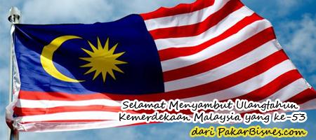 Selamat Menyambut Ulangtahun Kemerdekaan Malaysia yang ke-53