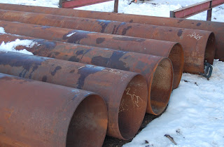 24  used steel pipe for casing and culverts. & Highland Pipe and Steel LLC