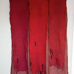 'Escarlata (letting blood)' (2006-2007, 300cm x 110cm), Janice Wright Cheney