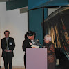 Kate Wallace presented 2010 SHMF Board of Director's Art Advocacy Award