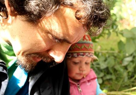 Frank y su hija