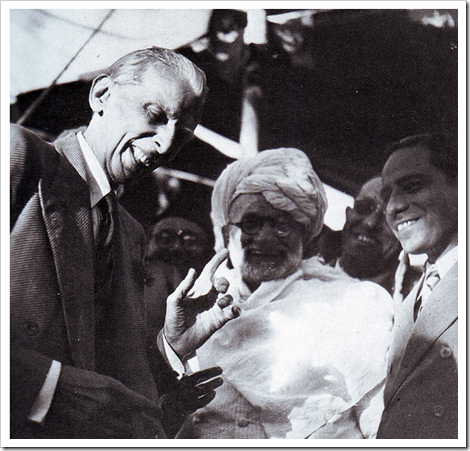 Quaid-e-Azam's rare uninhibited laughter