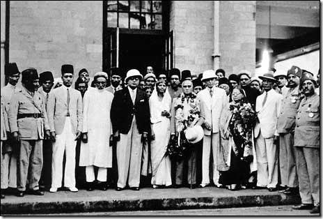 On the occasion of the All India Muslim League session, 1936