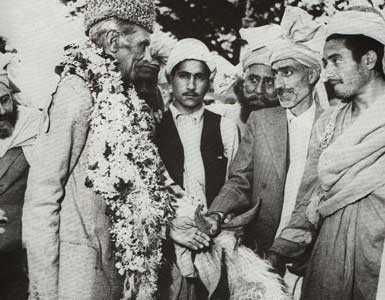 [As a gesture of goodwill, tribal leaders presenting a goat to the Quaid[5].jpg]