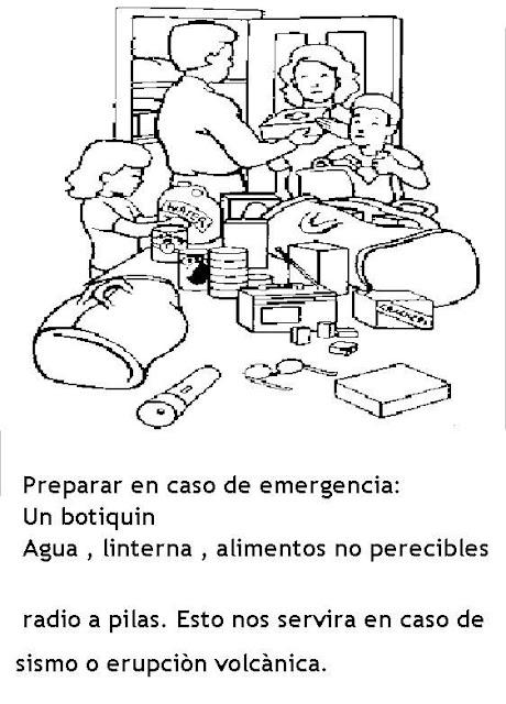 COLOREAR DIBUJOS DE PREVENCION DE RIESGOS
