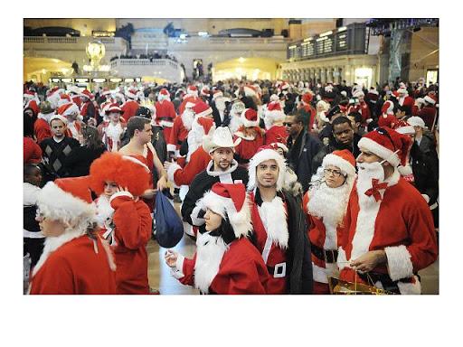 SantaCon 2010 @ Grand Central