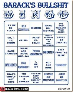 obama bingo
