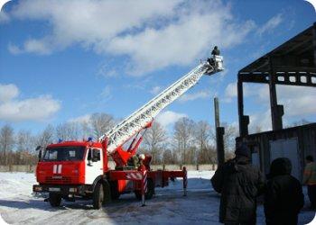 фото Новая пожарная машина