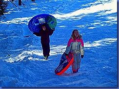 Sledding 3-1-2011