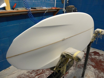 "Tim Stafford custom surfboards - 6'4"" double wing pin bonzer EVO3"