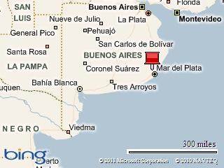 Картина на карта