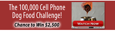 Pacebutler Cell Phone Dog Food Challenge