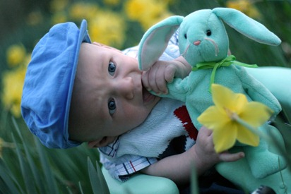 Calvin's First Easter - for blog 22