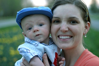 Calvin's First Easter - for blog 23