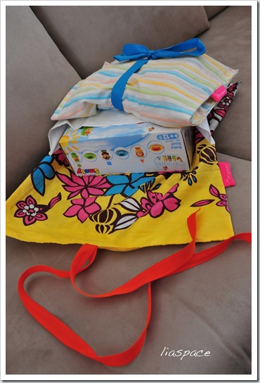lias space- present bag