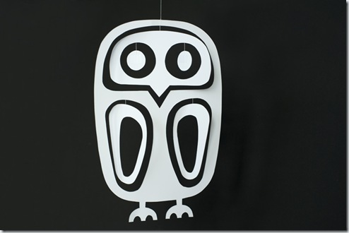 Made by Joel Paper Owl Mobile 1