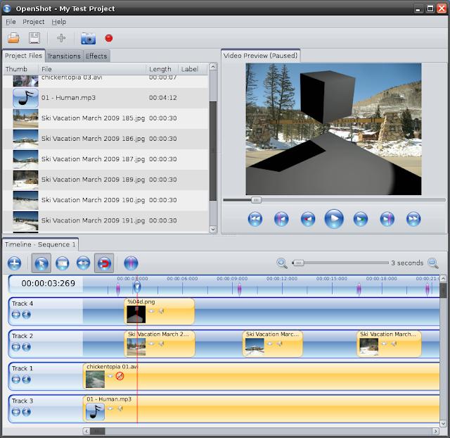 OpenShot Video Editor y Ubuntu
