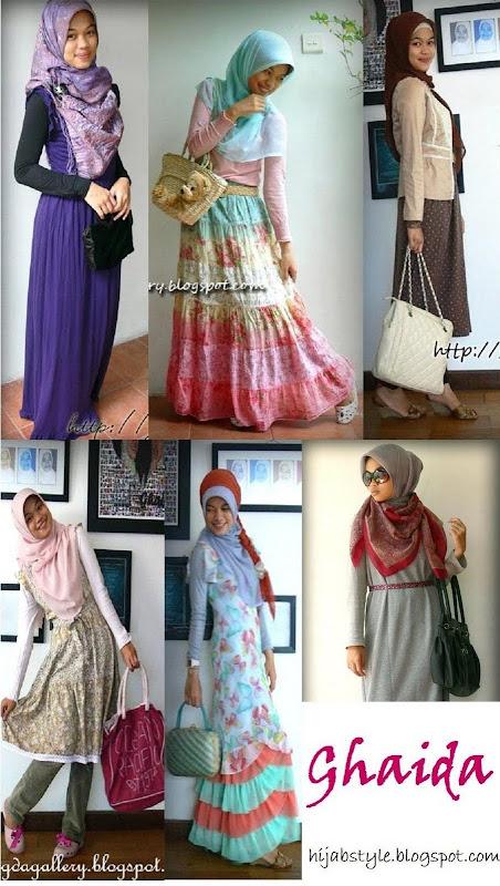 Muslimah Style: Ghaida