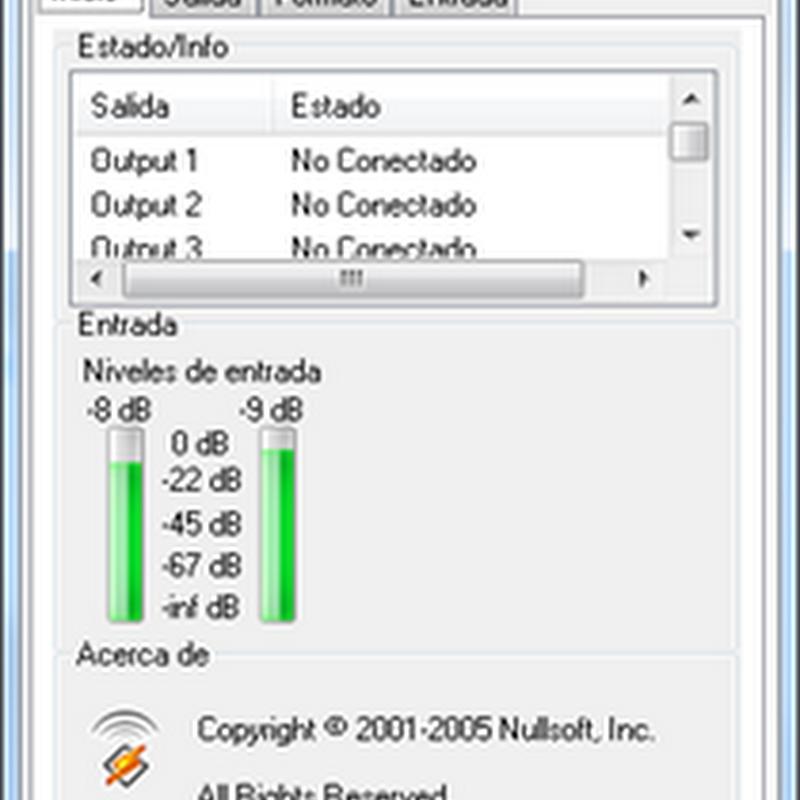 ShoutCast 1.9.0 en español