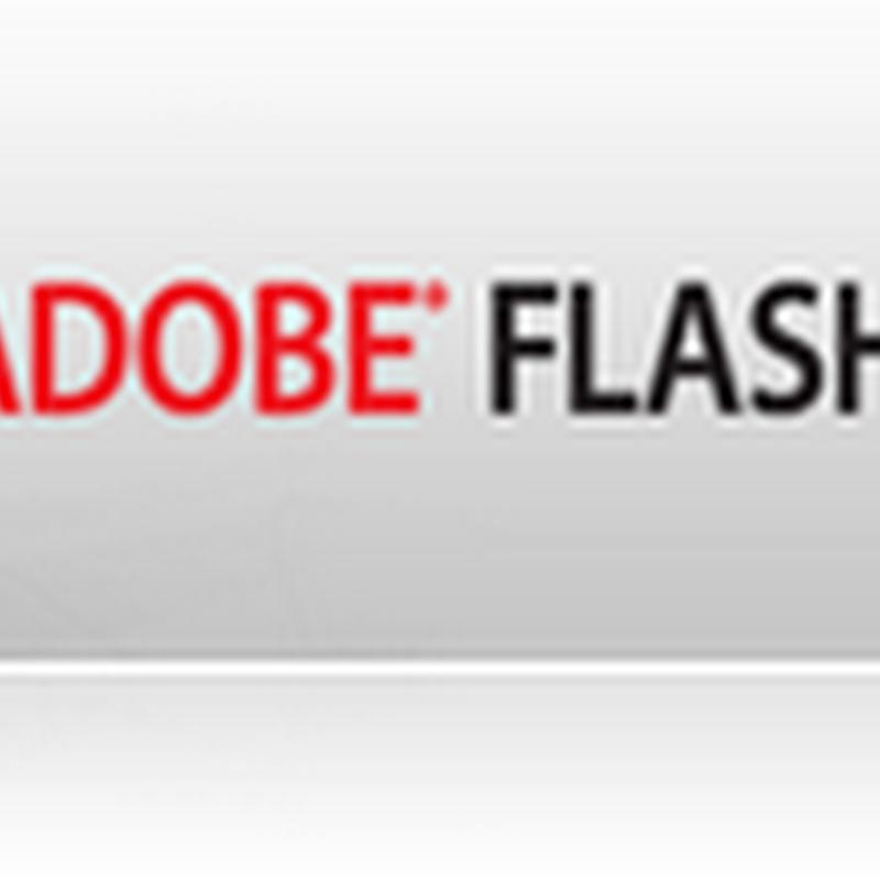 Disponible Adobe Flash Player 10.1.53.64