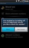Screenshot of Block'em
