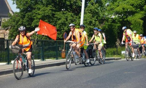 Liikennepyöräilyn opetusta koululaisille Gentissä (Belgia) Kuva: Esa Rantakangas