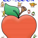 Para poner los nombres, fotos o símbolos de los niños que van al comedor escolar dentro de la manzana.