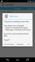 Screenshot of Power WiFi