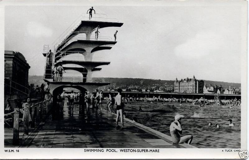 Vintage Postcard Blog Weston Super Mare England 1930 39 S