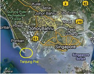 Image result for Tg Piai penghujung benua asia
