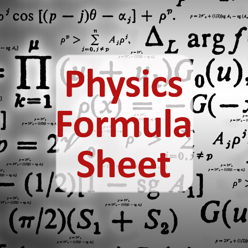 Physics Formula Sheet LOGO-APP點子
