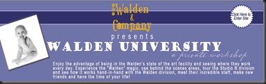 Walden's U