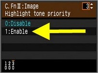 Highlight Tone Priority2