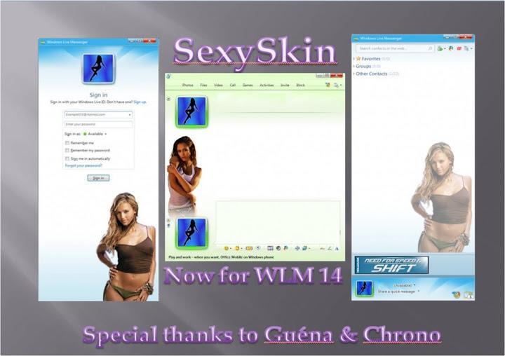Sexy Skin para Messenger