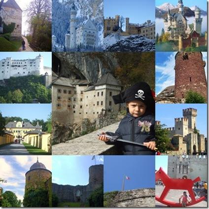 Alcuni dei castelli che abbiamo visitato