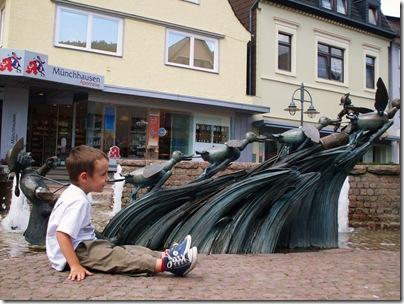 L'avventure delle anitre a Bodenwerder