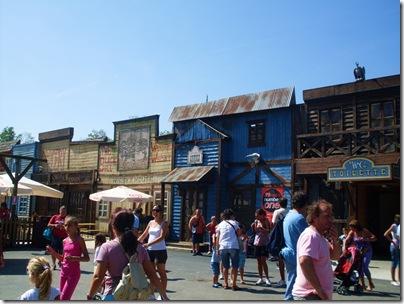 Il villaggio fantasma a leolandia park