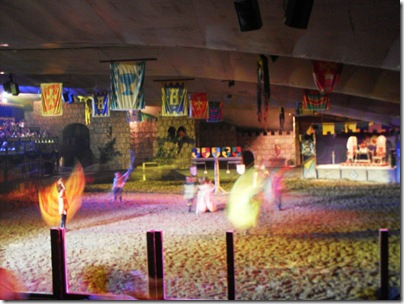 La spettacolare arena di Medieval Times