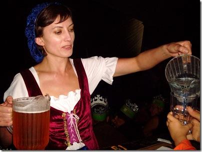 Il bicchiere è sempre pieno a Medieval Times