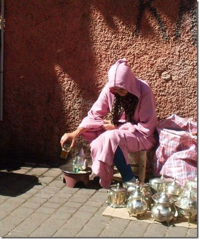 Rito del tè a Marrakech