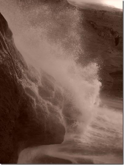 La forza dell'acqua delle cascate di Ouzoud